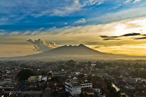 sunset urban mountain nikon indonesia d7000 paysage