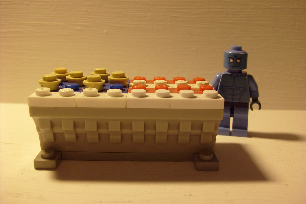 Dr Manhattan Watchmen Building Block Mini Figure