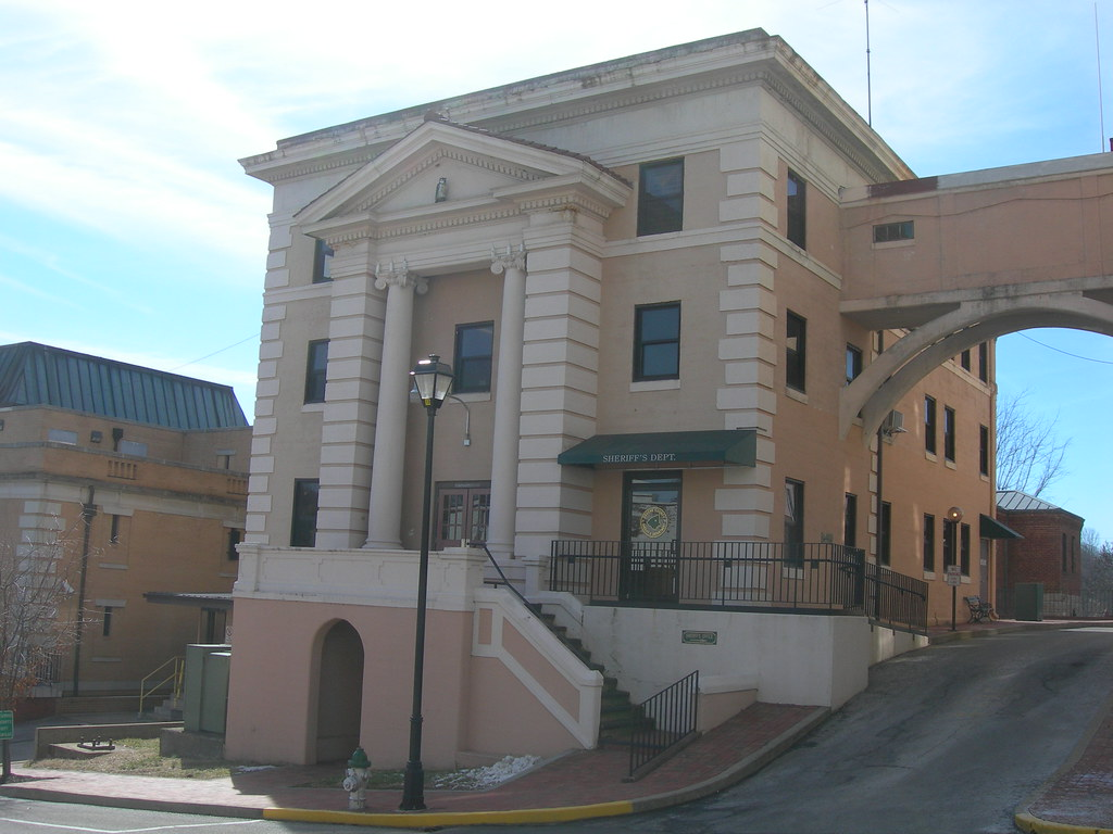 Old) Greene County Jail   Greeneville, Tennessee Probably c