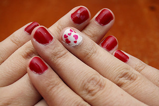 043: Messy nails | by ninevoltheart