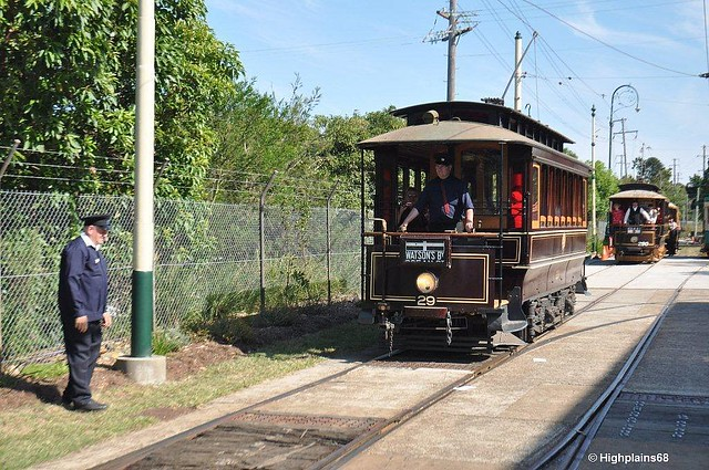 50 years since Sydney trams