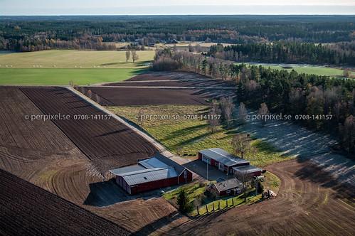slättås tråvad västragötaland flygfoto sweden swe