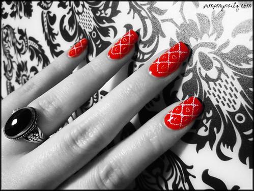 Valentine's Day nail art | by Iris04