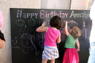 Annie's big chalkboard | by The Spohrs Are Multiplying...