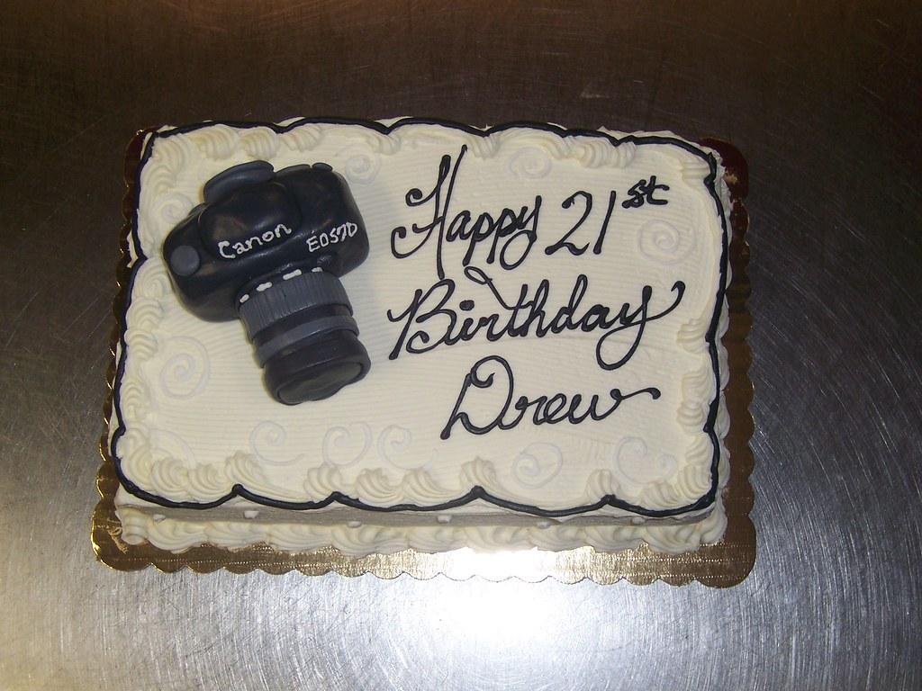 Superb Camera Themed Birthday Cake Sarapweav Flickr Funny Birthday Cards Online Benoljebrpdamsfinfo