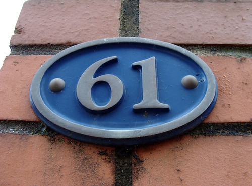 No 61 - blue plaque | by kirstyhall