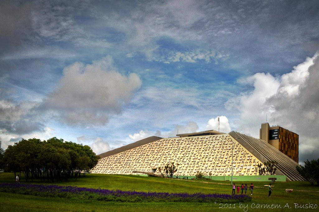 Teatro Nacional Claudio Santoro - Brasília, DF by Carmem