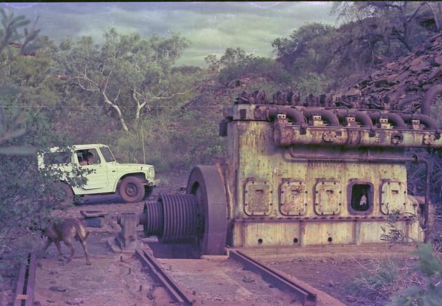 Yampire Gorge Mine Engine - 1978