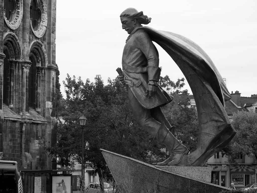 af104fa2e Statue of Jean Talon, Châlons en Champagne | Wikipedia: Jean… | Flickr