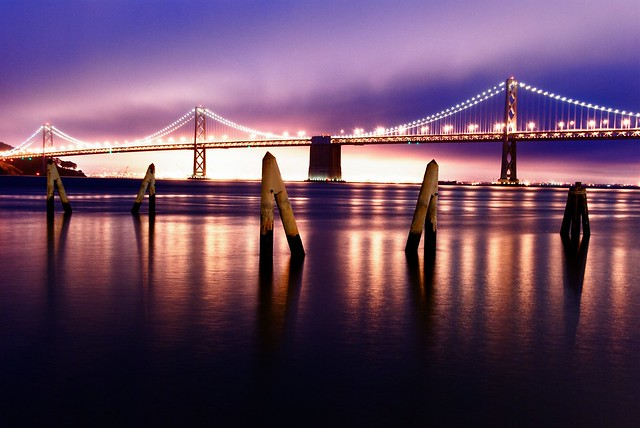 Bay Bridge colors