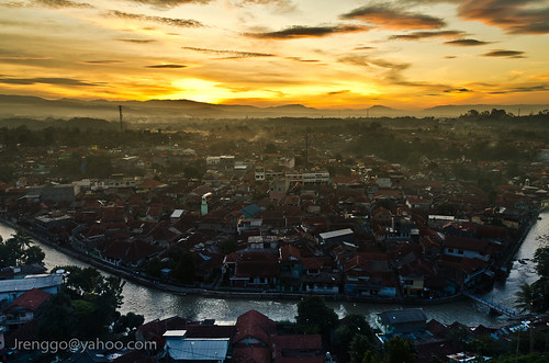 sunset urban nikon indonesia d7000 paysage
