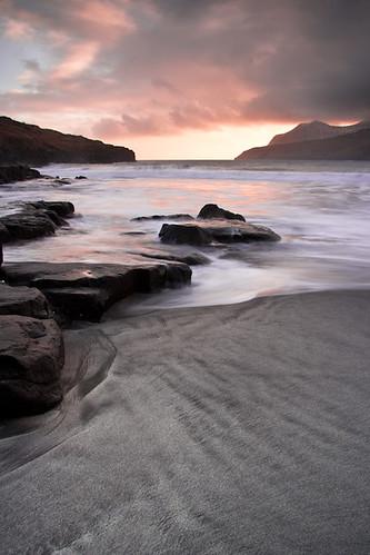 ocean sunset sky beach clouds sand warm long exposure surf faroeislands explored nd09 streymoy leynar canon400d softgrad leynasandur