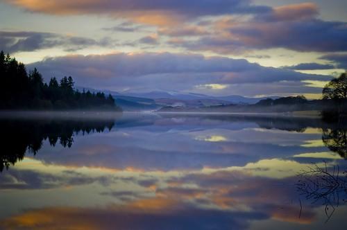 new mist water mirror scotland mr ken loch galloway newvision digitalcameraclub nbw peregrino27newvision