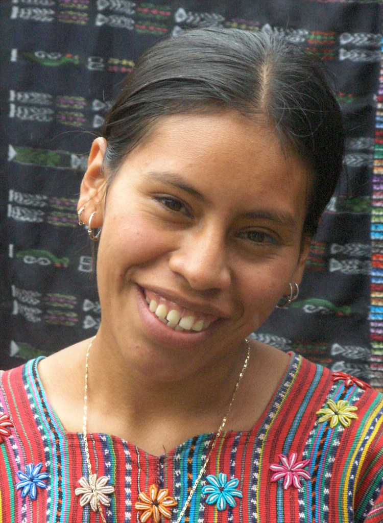 Una Muchacha Bonita A Pretty Girl Olga Sololá Sololá