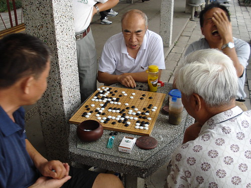Men playing go | by J.A.G.A.