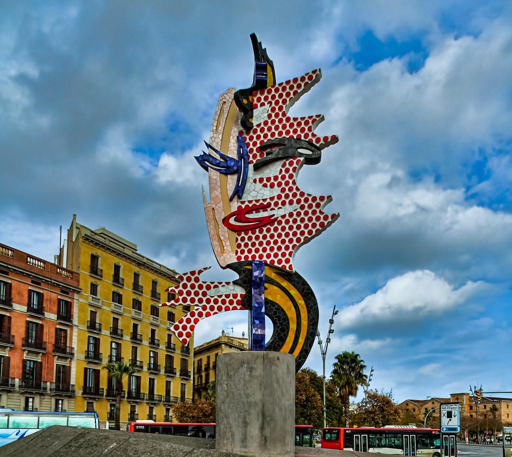 fbfd6ed4bf5 ... Barcelona Head by Roy Lichtenstein