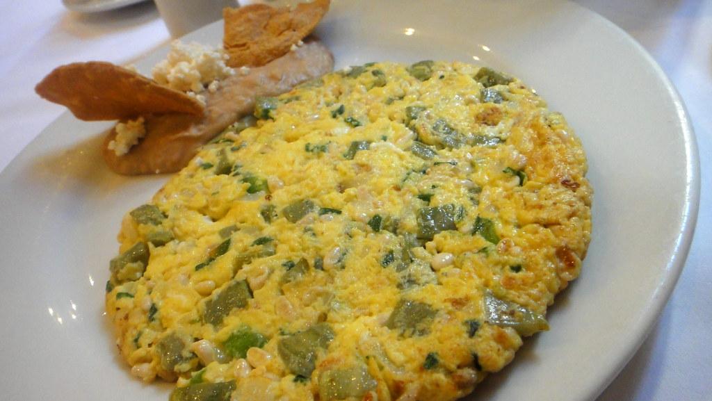 Tortilla de Huevo RECETA PERUANA