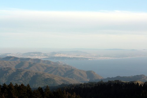 view from mt. tamalpais | by molly dunham