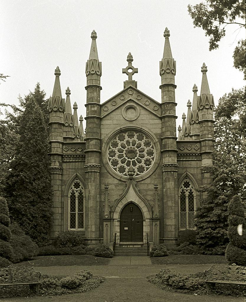 Bigelow Chapel - Mount Auburn Cemetery