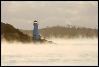 Sea Smoke Around George's Island | by Iguanasan