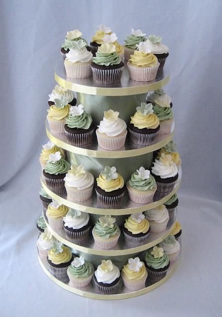Trecia's cupcake tower
