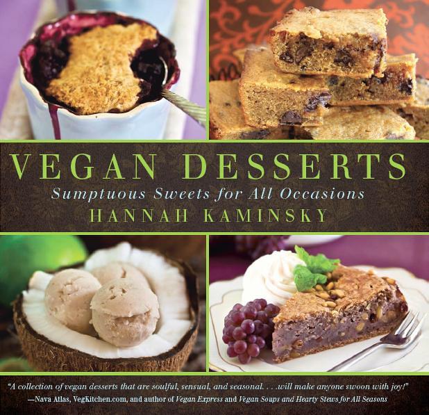 Vegan Desserts Cookbook Cover