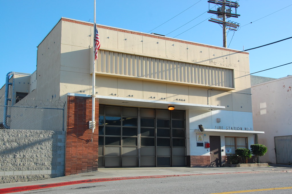 LAFD Station 11 - west of Downtown | image7801 | Flickr