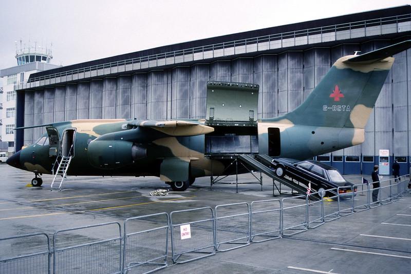 BAe146 1002: G-BSTA British Aerospace BAe Hatfield