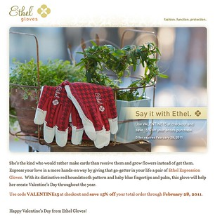 My Photo on Ethel Gloves e-mail