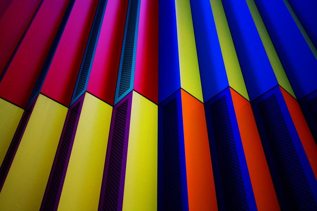 Colourful - Fassade  Mira