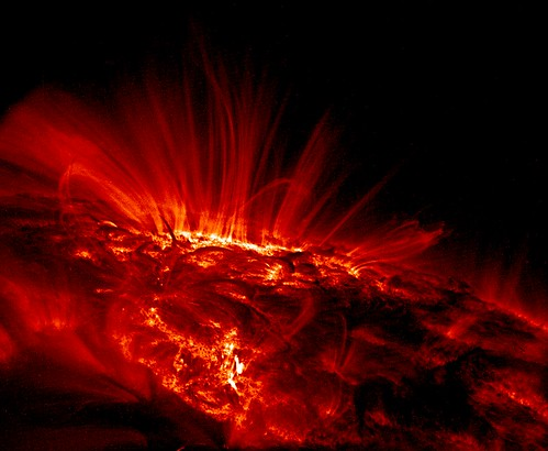 Sunspot Loops in Ultraviolet | by NASA Goddard Photo and Video