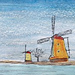 Holland in watercolor
