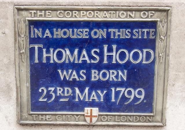 Blue Plaque, Poultry, London