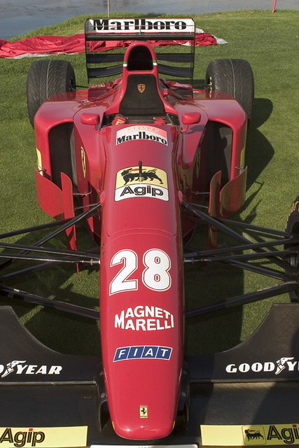 • 1994 Gerhard Berger Ferrari 412T F1 (#28). 2004 Concours. 0165