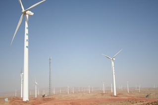 Ningxia Wind Farm | by Land Rover Our Planet