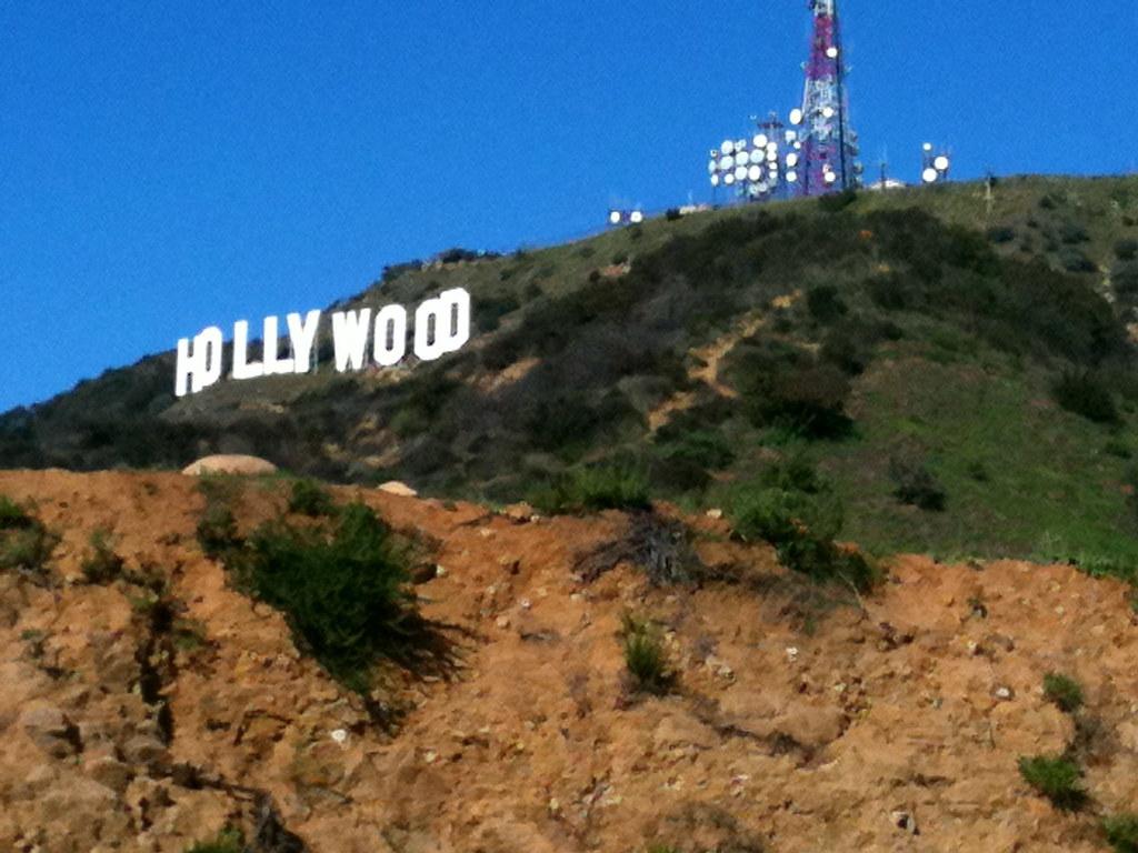 Hollywood sign - Jan. 2011