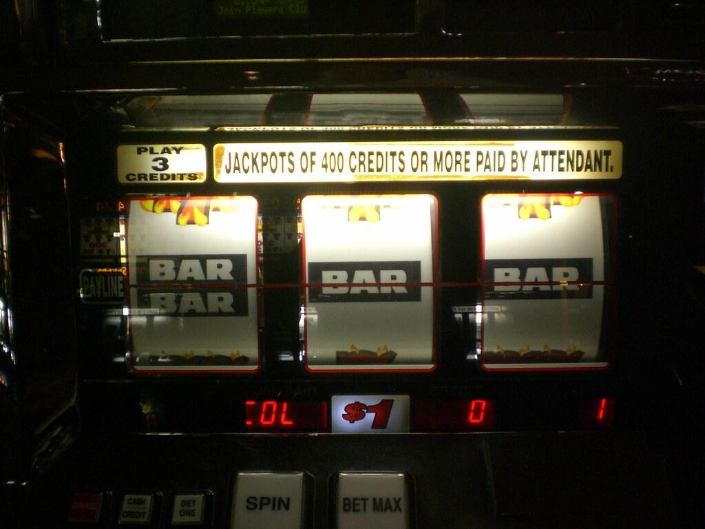slot machine winnings