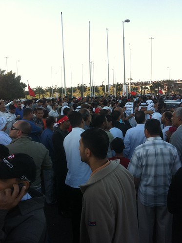 The Retaking of Pearl Roundabout   by malyousif