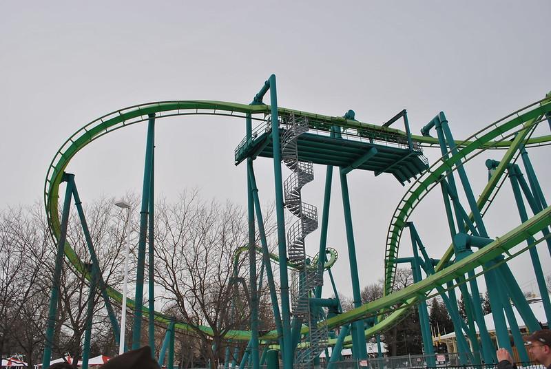Raptor -- Cedar Point