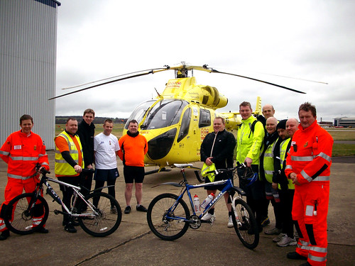 Yorkshire Air Ambulance Photo Shoot | by Simon Grubb