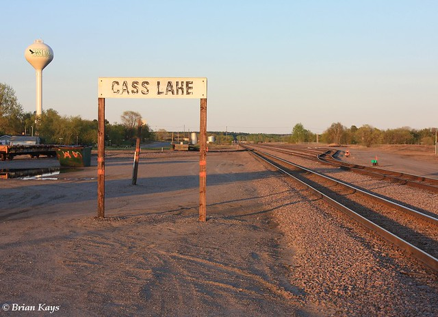 BNSF Cass Lake Yard