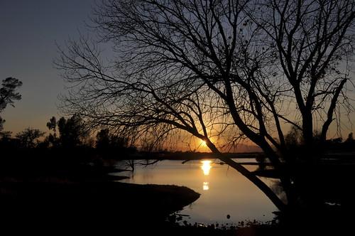 sunset chico horseshoelake