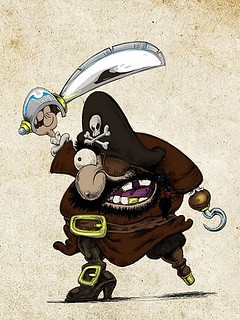 Captain Right-Side Freelance Pirate