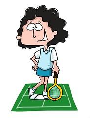 Laura, the tennis fan