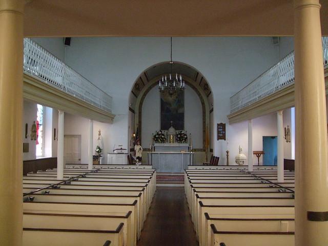 St. Ignatius Catholic Church on St. Thomas Manor, La Plata (Port Tobacco), MD