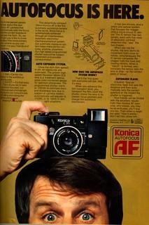 Autofocus is here. Konica Autofocus AF C35