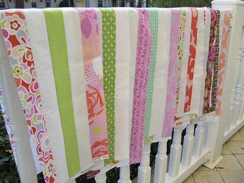 22:365 { Postage Stamp Quilt Along: Strip Sets } | by Elena @ Hot Pink Stitches