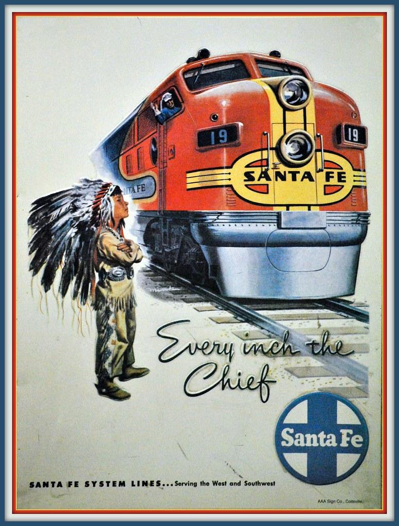 SANTA FE SUPER CHIEF GALLERY LINK BELOW CLICK HERE TO FLICKR