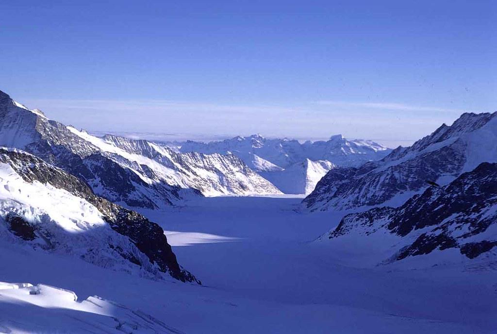 The Aletsch Glacier - Jungfrau - Switzerland