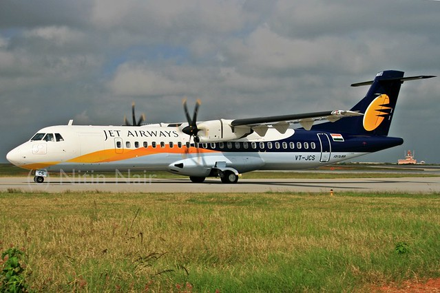 Jet Airways ATR72 VT-JCS